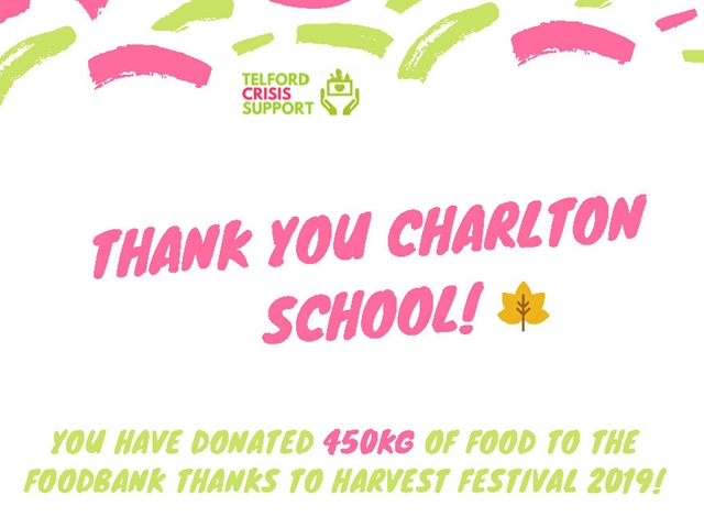 Harvest total donations hit 450Kg