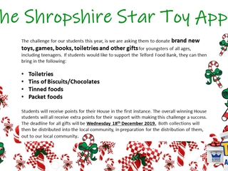 The Shropshire Star and Storage King Christmas Toy Appeal